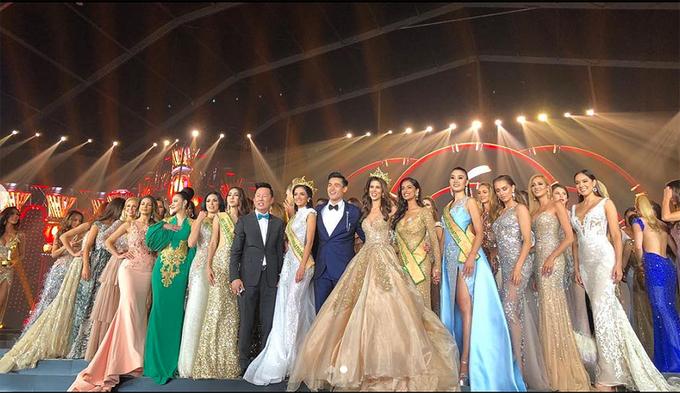 Nguoi mau dien trai dan dat chung ket Miss Grand International 2018
