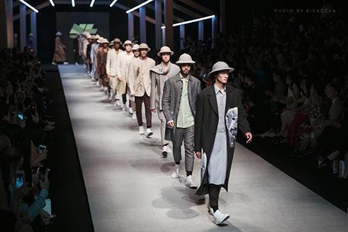 Bộ sưu tập của nhà thiết kế Vũ Việt Hà dành cho nhà may Veston Ngọc Lan.
