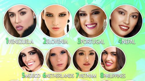 Phuong Khánh duọc dụ doán vào Top 10 Miss Earth