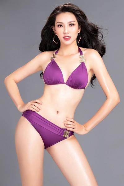 Thùy Tien thi bikini tại Miss International 2018