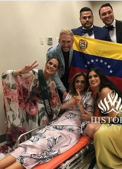 Hoa hau Venezuela ngat o hau truong Miss Earth 2018