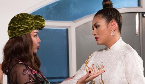Võ Hoàng Yến trách Thanh Hằng chọn thí sinh mạnh vào phòng loại làm cô khó xử.