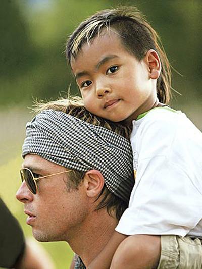 Hành trình Maddox lón len ben Angelina Jolie - Brad Pitt