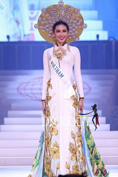 Dại diẹn Viẹt Nam truot Top 15 Hoa hạu Quóc té 2018