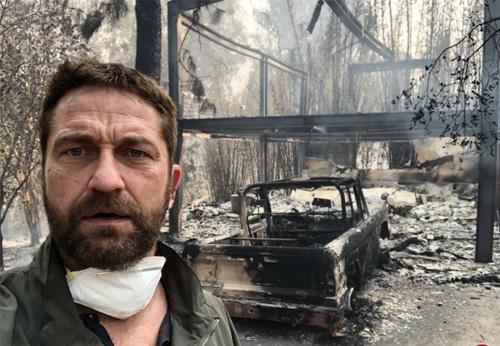 Sao Hollywood mát nhà vì hỏa hoan ỏ California
