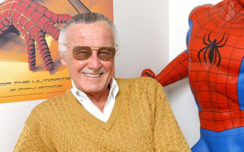 Stan Lee tay trang kien tao de che Marvel