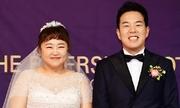 'Danh hài béo Hàn Quốc' giảm 30 kg để mặc vừa váy cưới