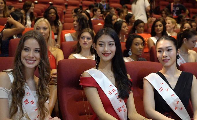 Sac voc dai dien chu nha Trung Quoc tai Miss World 2018