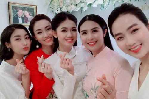 Le an hoi cua A hau Thanh Tu va chong doanh nhan
