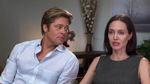 Angelina Jolie và Brad Pitt dàn xép viec nuoi con ngoai toa