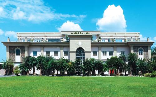 Trụ sở tập đoàn Tenamyd Canada đặt tại khu công nghiệp TP HCM với không gian xanh mát.