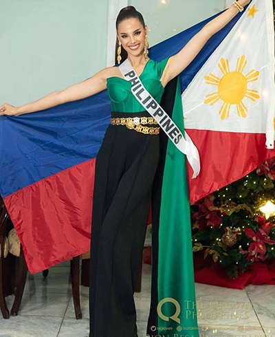 Hoa hau Philippines - guong mat sang gia dau tien o Miss Universe 2018