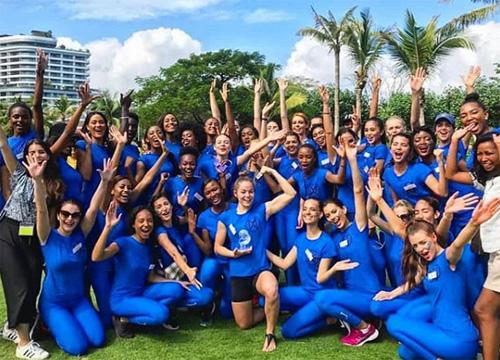 Hoa hạu Mỹ vào thang Top 30 Miss World nhò phan thi thẻ thao