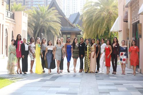 Miss World cong bo 10 nguoi dep thang Thu thach doi dau