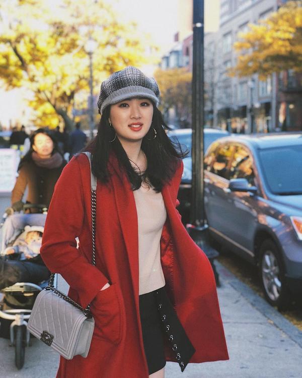 Gu mặc tuổi 20 của ái nữ chủ tịch Huawei
