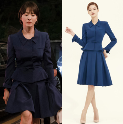 Ve xa xi cua Song Hye Kyo khi dong quy co tram anh the phiet