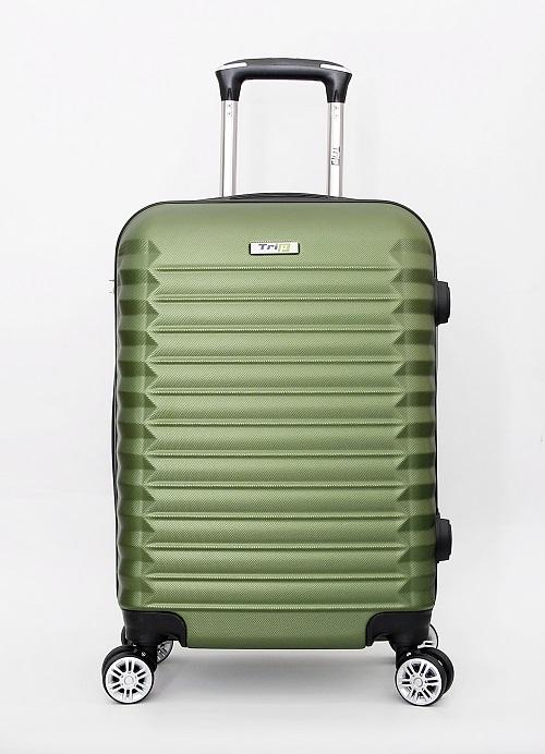 Vali Trip P805 Size 50cm-20inch xanh rêu - xanh rêu: giảm 37% còn 813.000 đồng. Ngoài thiết kế hiện đại, chiếc vali còn có 4 bánh đôi bán kính lớn xoay 360 độ, di chuyển êm.