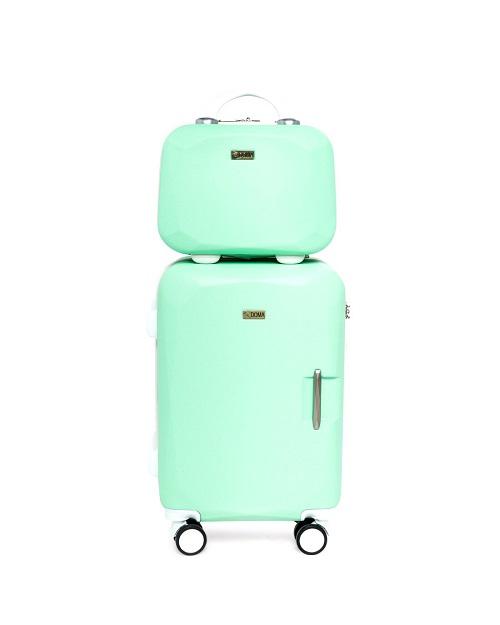 Vali nhựa thời trang Doma DH814 - Light Green (20 Inch) - xanh lá: giá giảm 35% còn 1,87 triệu đồng. Với thiết kế tinh tế, màu sắc thời trang, cần kéo mạ crom, kéo đẩy dễ dàng, chiếc vali trọng lượng 2,5 kg này có thể giúp bạn để đồ thoải mái trong những chuyến đi xa.