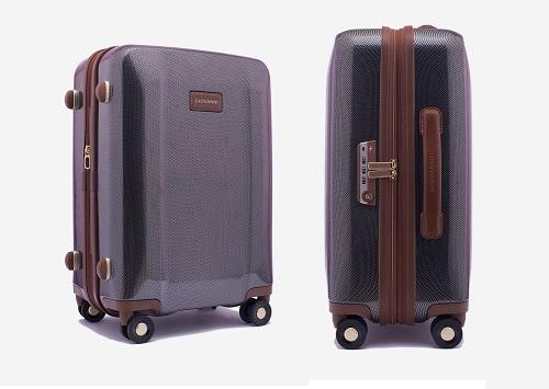 Vali cao cấp Giovanni UE001-BR-20 - nâu: giá giảm còn 7,9 triệu đồng. Vali được tích hợp khóa TSA bảo đảm an toàn cho những chuyến công tác quốc tế dài ngày. Phần nội thất bên trong được thiết kế đa năng, phục vụ cho nhiều mục đích, được bổ trợ bởi lớp lót dệt jacquard làm tăng trải nghiệm du lịch.
