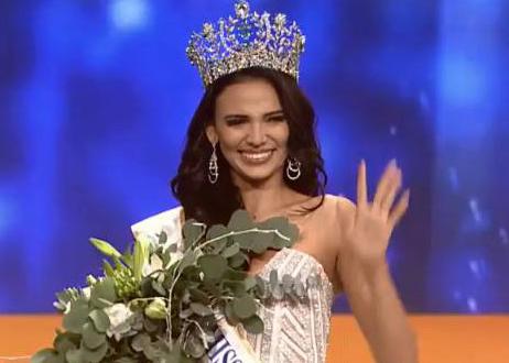 Nguoi dep Puerto Rico dang quang Miss Supranational 2018