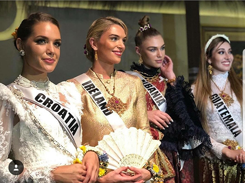 HHen Niê và dàn người đẹp Miss Universe diện váy truyền thống của Thái - ảnh 8