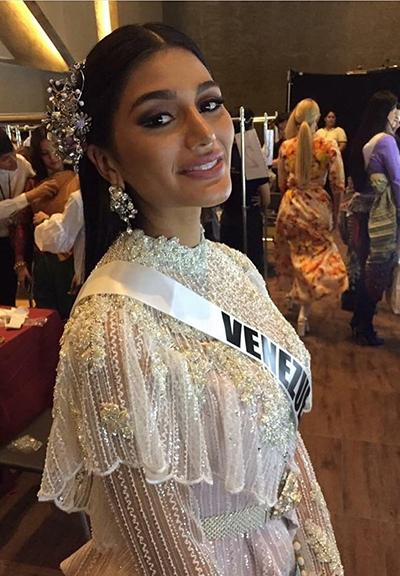 HHen Niê và dàn người đẹp Miss Universe diện váy truyền thống của Thái - ảnh 4