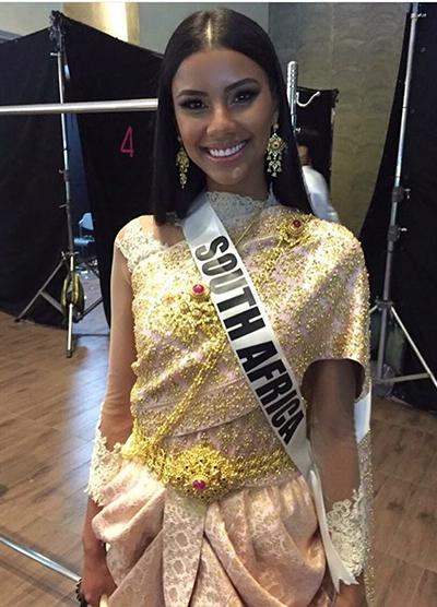 HHen Niê và dàn người đẹp Miss Universe diện váy truyền thống của Thái - ảnh 5