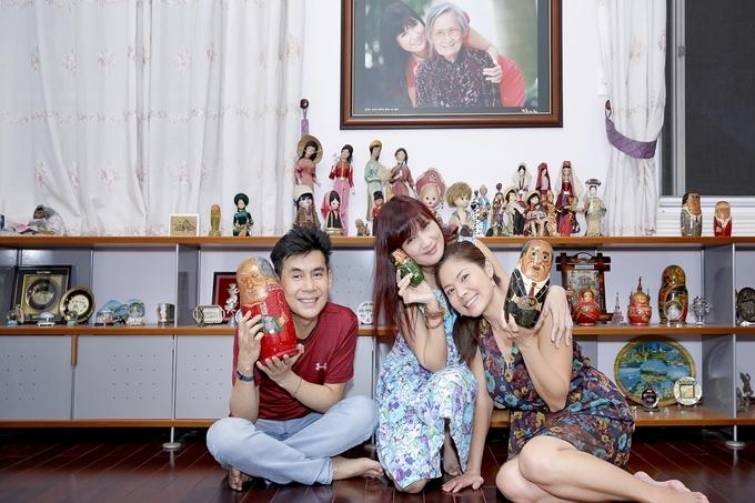 Ho Le Thu tham biet thu hon 800 m2 cua Hien Mai