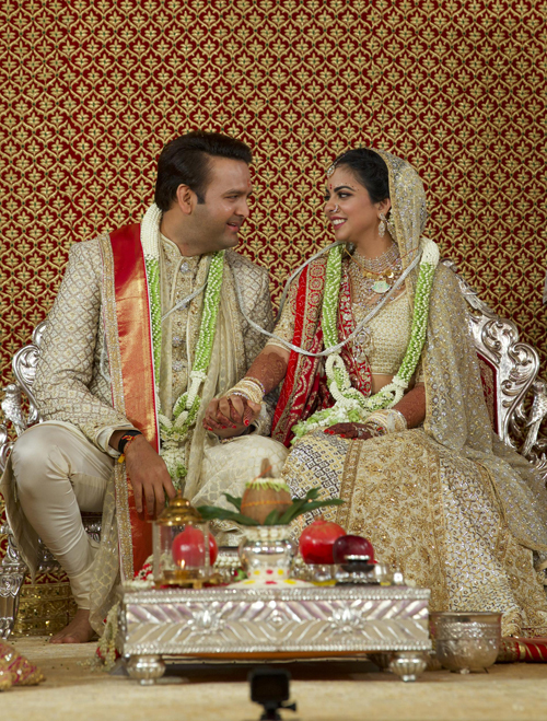 Priyanka Chopra du dam cuoi con gai ty phu An Do