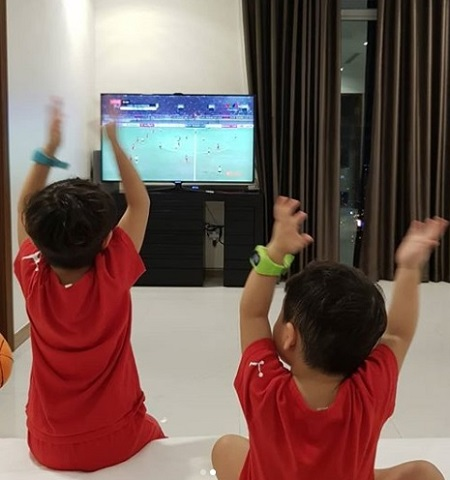 Sao Han chuc mung Viet Nam vo dich AFF Cup