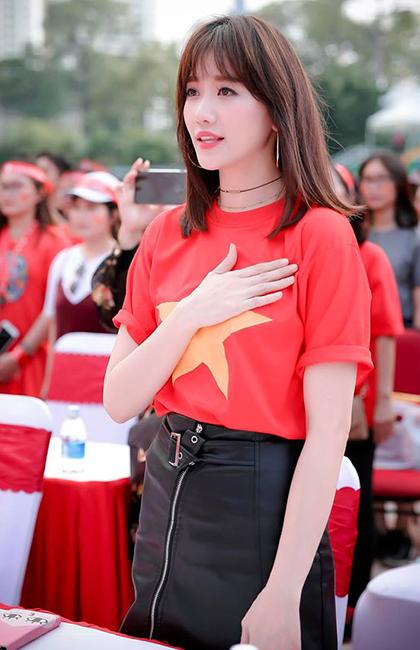 Nghe si Han o Viet Nam tu hao ve huan luyen vien Park Hang-seo