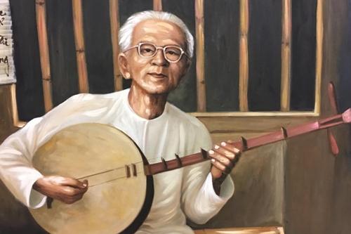 Thanh Tòng, Út Bạch Lan và hơn 100 nghệ sĩ qua tranh sơn dầu