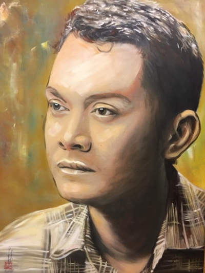 Thanh Tòng, Út Bạch Lan và hơn 100 nghệ sĩ qua tranh sơn dầu - 4