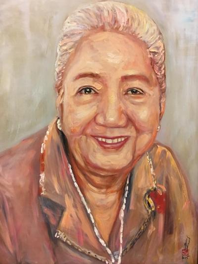 Thanh Sang, Út Bạch Lan và hơn 100 nghệ sĩ qua tranh sơn dầu - page 2 - 5