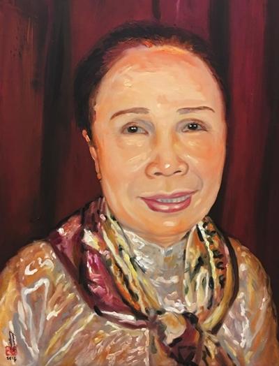 Thanh Sang, Út Bạch Lan và hơn 100 nghệ sĩ qua tranh sơn dầu - page 2 - 6