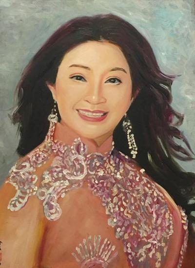 Thanh Sang, Út Bạch Lan và hơn 100 nghệ sĩ qua tranh sơn dầu - page 2 - 7