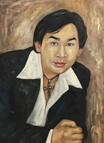 Thanh Tòng, Út Bạch Lan và hơn 100 nghệ sĩ qua tranh sơn dầu - 6