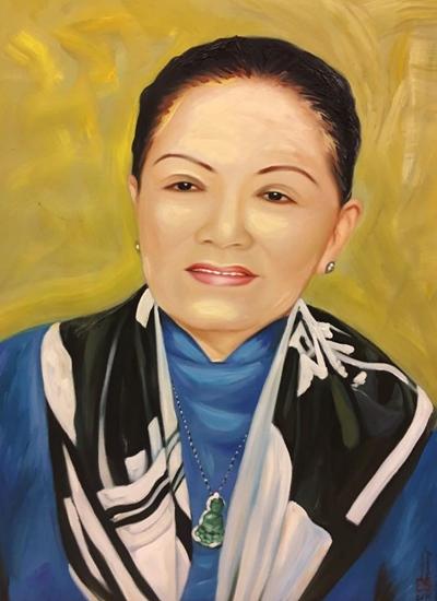 Thanh Tòng, Út Bạch Lan và hơn 100 nghệ sĩ qua tranh sơn dầu - 7