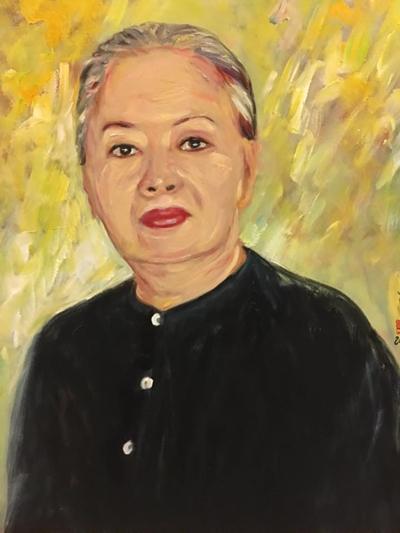 Thanh Tòng, Út Bạch Lan và hơn 100 nghệ sĩ qua tranh sơn dầu - 10