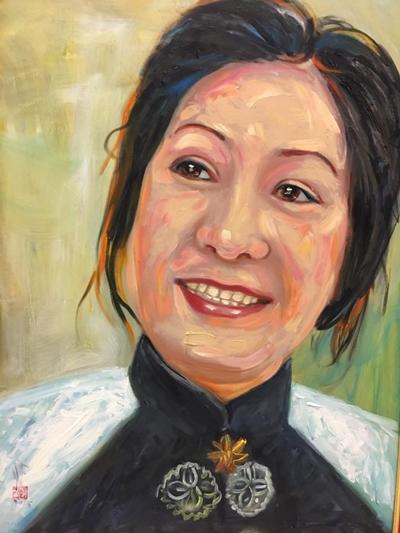Thanh Sang, Út Bạch Lan và hơn 100 nghệ sĩ qua tranh sơn dầu - page 2 - 3