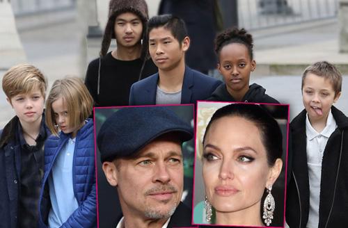 Brad Pitt dón sinh nhạt ben con sau thỏa thuạn mói vói Jolie