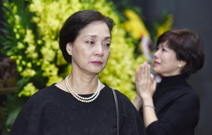 Gia dinh dong nghiep tien biet NSND Anh Tu