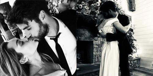 Miley Cyrus cuoi Liam Hemsworth