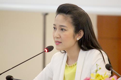 NSƯT Thanh Thúy - Phó giám đốc Sở Văn hóa TP HCM.