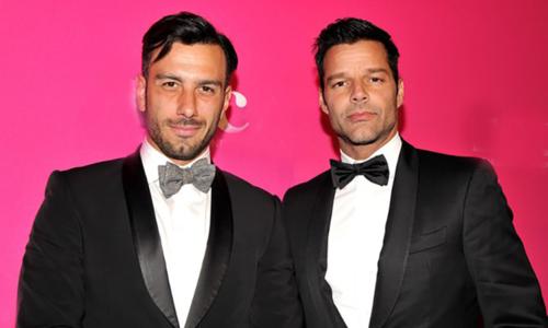 Ricky Martin va ban doi dong gioi co con gai