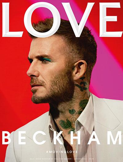 David Beckham gây tranh cãi khi đánh phấn mắt xanh