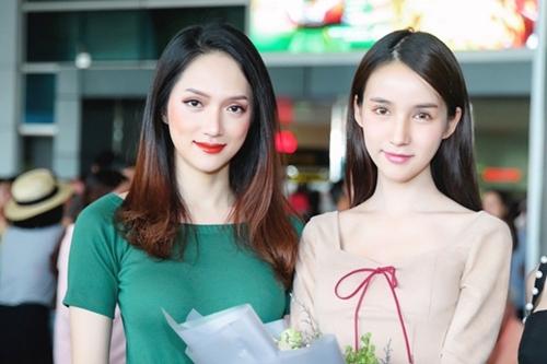 Hương Giang vàYoshi