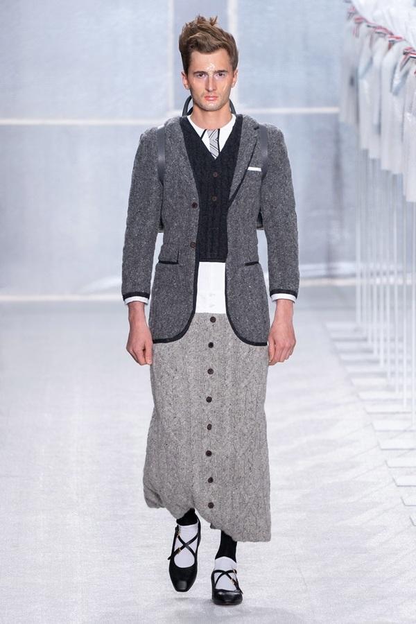 Trang phục đánh lừa thị giác của Thom Browne