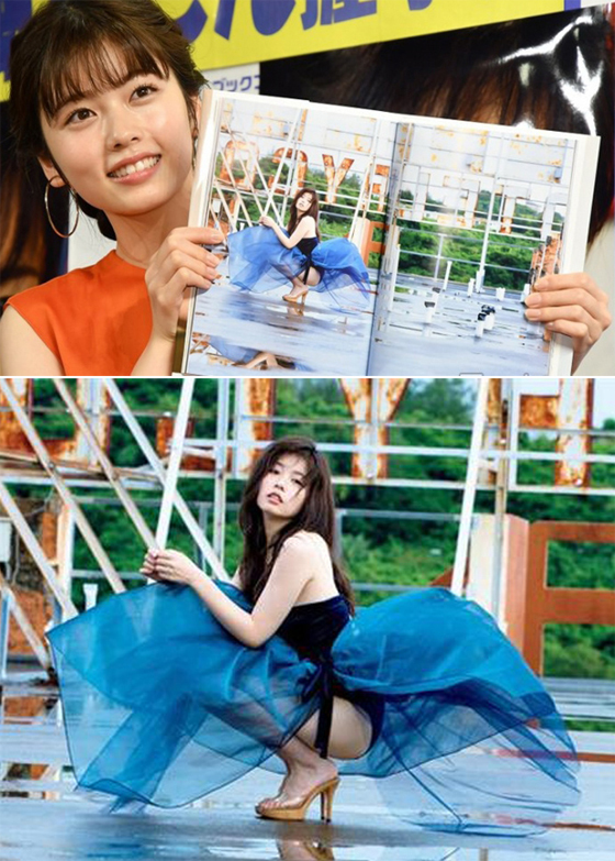 Diễn viên Nhật Bản chụp ảnh bikini sau khi giảm cân