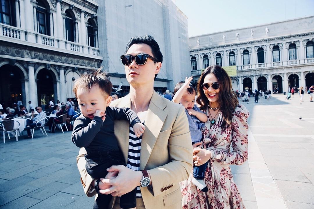 Tổ ấm hạnh phúc của 'Thiên thần nội y' Thái Lan và chồng tỷ phú